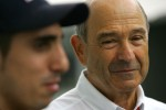 Peter Sauber, Sauber F1 Team, Team Owner and Sebastien Buemi, Scuderia Toro Rosso