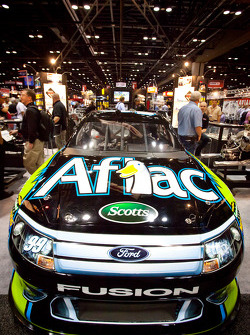 Roush Fenway Racing Ford of Carl Edwards on display