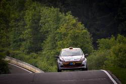 #164 Schlaug Motorsport Renault Clio RS: Xavier Lamadrid, Xavier Lamadrid Sr., Max Girardo, Mark Donaldson