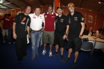 Robby Gordon, Nasser Al-Attiyah, Stéphane Peterhansel and Nani Roma