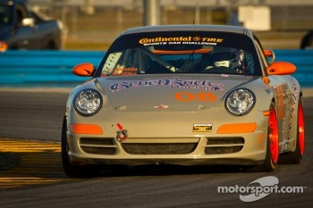 #08 Rebel Rock Racing Porsche 997: Gary Jensen, Mark Jensen, Jim Jonsin, Bucky Lasek