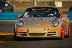 #08 Rebel Rock Racing Porsche 997: Gary Jensen, Mark Jensen, Jim Jonsin, Bucky Lasek