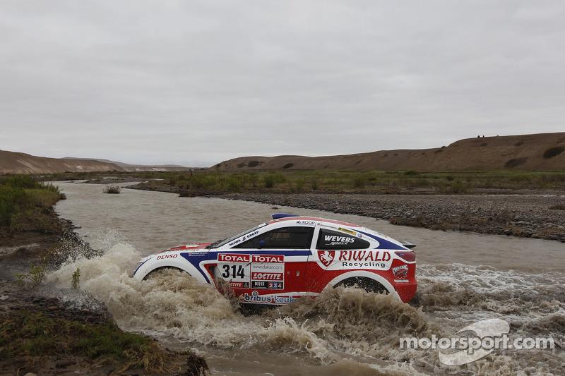 #314 Mitsubishi: Bernhard Ten Brinke, Matthieu Baumel