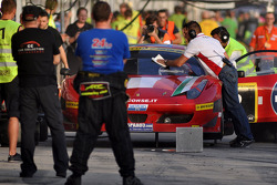 #2 AF Corse SRL Ferrari 458 Italia GT3: Jack Gerber, Matt Griffin, Marco Cioci, Niki Cadei