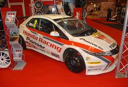 Matt Neals 2011 Triple winning BTCC Honda Racing Civic