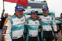 First place in Truck category Gerard de Rooy, Tom Colsoul, Darek Rodewald