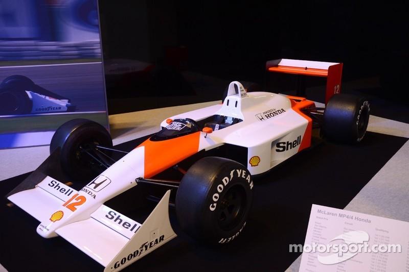 McLaren-Honda MP4/4 - 1988 German GP winner, driven by Ayrton Senna on te way to his first World Championship