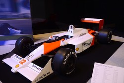 McLaren-Honda MP4/4 - 1988 German GP winner, driven by Ayrton Senna on te way to his first World Championship