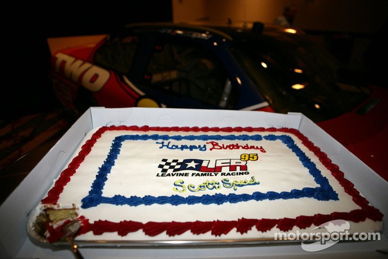 Birthday cake for Scott Speed