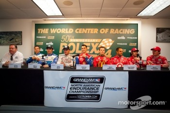 Chip Ganassi Racing press conference: Joey Hand, Scott Pruett, Graham Rahal, Memo Rojas, Scott Dixon, Dario Franchitti, Jamie McMurray, Juan Pablo Montoya