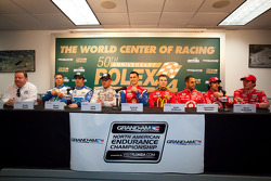 Chip Ganassi Racing press conference: Joey Hand, Scott Pruett, Graham Rahal, Memo Rojas, Scott Dixon, Dario Franchitti, Jamie McMurray, Juan Pablo Montoya
