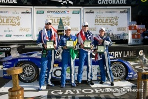 2012 Daytona Prototype Rolex 24 Hours of Daytona winning team