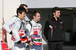 Kazuki Nakajima, Alexander Wurz, Nicolas Lapierre, Andrea Caldarelli