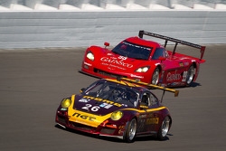 #26 NGT Motorsport Porsche GT3: Henrique Cisneros, Sean Edwards, Carlos Kauffmann, Nick Tandy, #99 GAINSCO/Bob Stallings Racing Corvette DP: Jon Fogarty, Memo Gidley, Alex Gurney