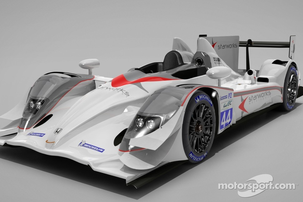 The 2012 Starworks Motorsport livery