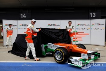 Nico Hulkenberg, Jules Bianchi and Paul di Resta