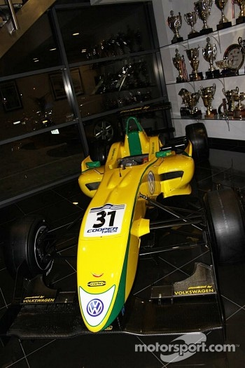 Felipe Nasr's F3 Car