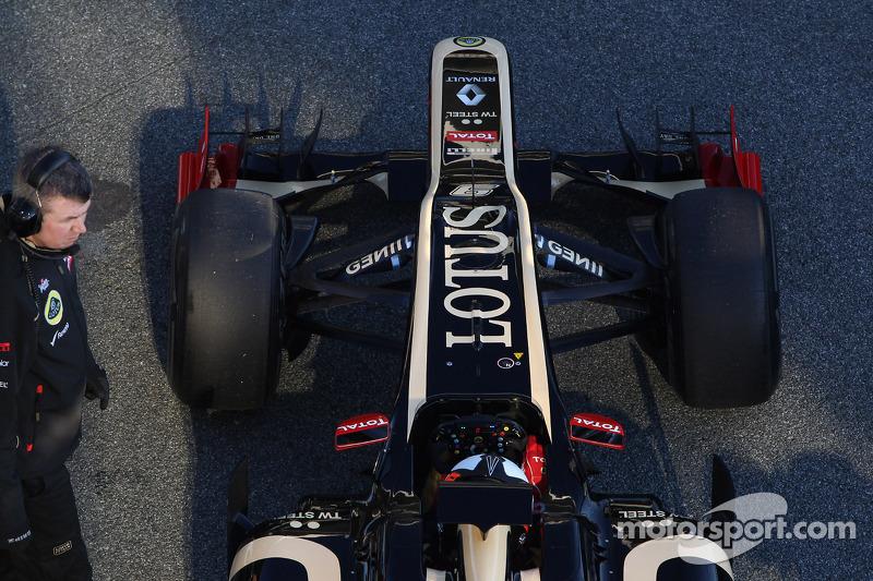 Kimi Raikkonen, Lotus Renault F1 Team