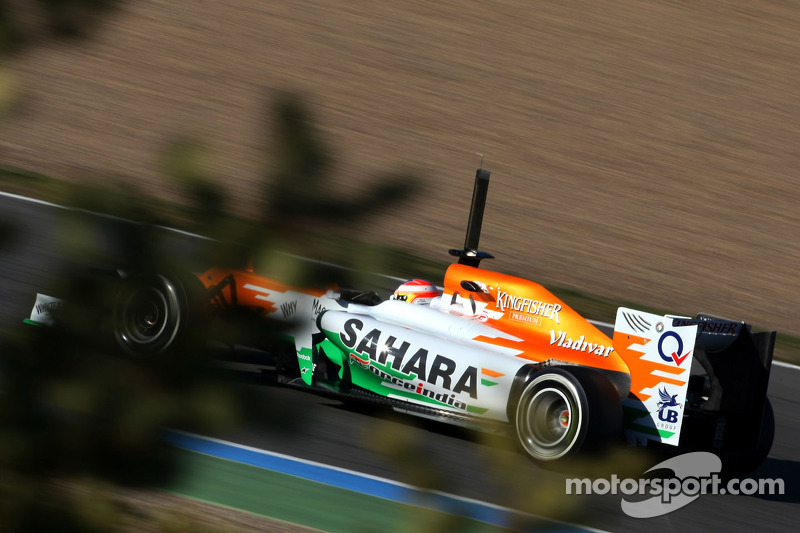 Paul di Resta, Sahara Force India Formula One Team