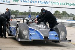 #52 PR1 Mathiasen Motorsports Oreca FLM09: Rudy Junco, Butch Leitzinger, Ken Dobson