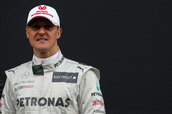 Michael Schumacher, Mercedes GP- Mercedes F1 W03 Launch