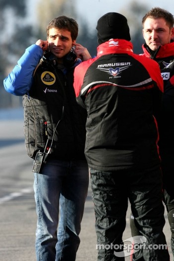 Jrme d'Ambrosio, third driver, Lotus F1 Team 