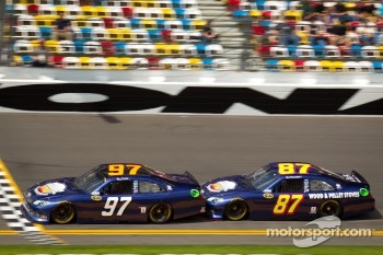 Bill Elliott, Nemco Toyota, Joe Nemechek, NEMCO Motorsports Toyota