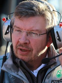 Ross Brawn, Team Principal, Mercedes GP Petronas
