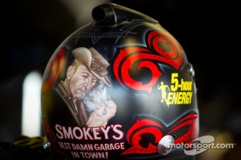 Helmet of Clint Bowyer, Michael Waltrip Racing Toyota