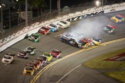 Brad Keselowski, Brad Keselowski Racing Dodge gets loose