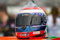 Helmet of Danica Patrick, JR Motorsports Chevrolet