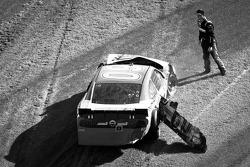 Trevor Bayne, Roush Fenway Ford after the crash