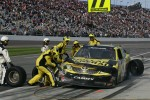 Pit stop for  Brian Scott, Joe Gibbs Racing Toyota