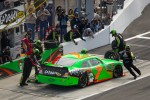 Pit stop for Danica Patrick, JR Motorsports Chevrolet