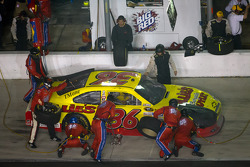 Pit stop for Dave Blaney, Tommy Baldwin Racing Chevrolet