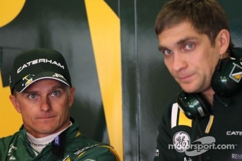 Heikki Kovalainen, Caterham F1 Team and Vitaly Petrov, Caterham F1 Team