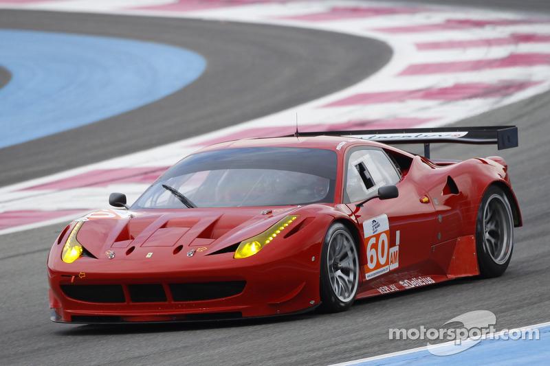 #60 AF Corse Ferrari F458 Italia: Piergiuseppe Perazzini, Marco Cioci, Matt Griffin