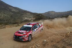 Nicolas Fuchs and Fernando Mussano, Mitsubishi EVO