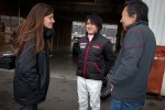 Cyndie Allemann, Chiyo Katsumasa and Michael Kim