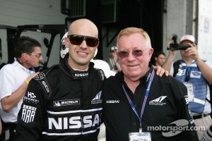Dr. Don Panoz with Marino Franchitti at Sebring