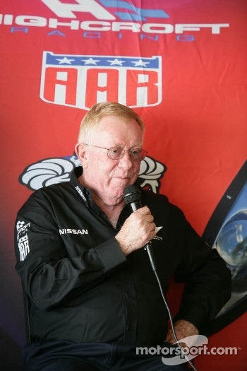 Don Panoz talks about the DeltaWing