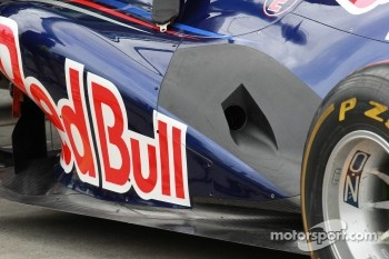 red Bull exhaust