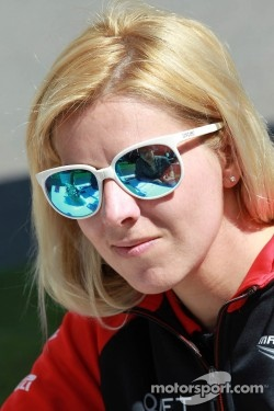 Maria de Villota before the acident.