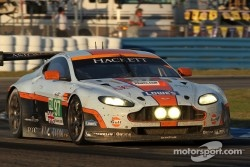 #97 Aston Martin Racing Aston Martin Vantage V8: Adrian Fernandez, Darren Turner
