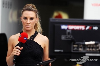 Georgie Thompson, Sky Sports F1 Presenter