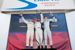 Race #2 Platinum Class Podium: Michael Mills, Fernando Pena, Sean Johnston