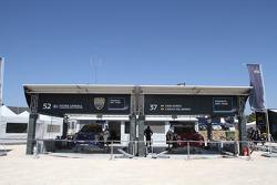 Prodrive MINI WRC team area