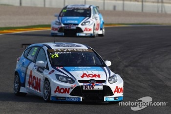 Tom Chilton, Ford Focus S2000 TC, Team Aon and James Nash, Ford Focus S2000 TC, Team Aon