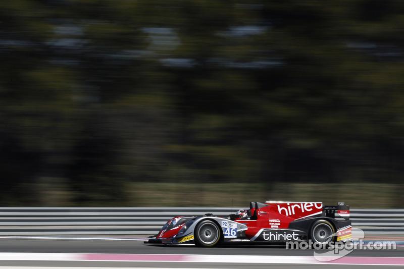 #46 Thiriet by TDS Racing ORECA 03: Mathias Beche, Pierre Thiriet