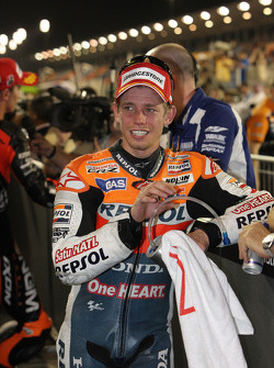 Third place Casey Stoner, Repsol Honda Team